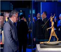 افتتاح معرض الملك توت عنخ آمون بالعاصمة الفرنسية باريس