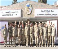 أنشطة مكثفة للتدريب المشترك المصري البريطاني «أحمس -1 »