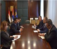 سفيرنا ببلجراد يبحث مع وزير الداخلية الصربي سُبل مكافحة الإرهاب