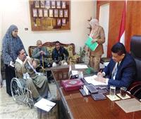 رؤساء المحليات بسوهاج يستقبلون 478 مواطنًا لحل مشاكلهم