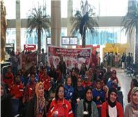 مطار القاهرة يعفي مشجعي ذوي الاحتياجات من رسوم الدخول