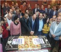 فيديو| أسرة «أخبار اليوم» تحتفل بفوز 3 من أبنائها بعضوية مجلس نقابة الصحفيين