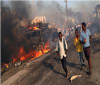 انفجار ضخم يهز منطقة وزارات بالعاصمة الصومالية