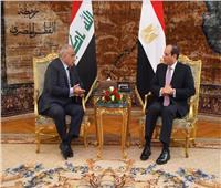 السيسي: لمست إرادة سياسية وعزما حقيقيا لاستكمال جهود بناء عراق جديد