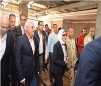 وزيرة الصحة والسكان تتفقد سير العمل في مستشفى بورفؤاد
