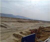 صور| نرصد مشروع إنشاء محطة حاويات الحوض الثاني بميناء السخنة