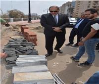 محافظ الغربية يتفقد شارع «تحيا مصر» وتطوير كورنيش ترعة «القاصد»