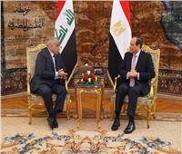 شاهد| تفاصيل يوم رئاسي.. السيسي يستقبل رئيس وزراء العراق ومدير برنامج الغذاء العالمي