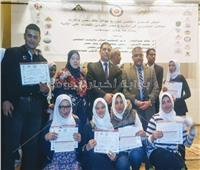 «الأعلى للجامعات» يُكرِّم طلاب المشروع القومي لمحو الأمية بالمنوفية