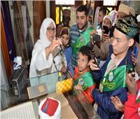 صور| جولة للوفود المشاركة بمسابقة الأوقاف للقرآن الكريم لمسجد «الحصري»