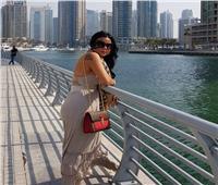 صور| رانيا يوسف تتألق في أحدث جلسة تصوير بـ«وشم جديد»