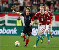 فيديو| كرواتيا تسقط أمام المجر في تصفيات «يورو 2020»