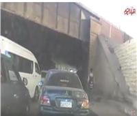 فيديو | شلل مروري في نفق مصر والسودان بسبب كسر ماسورة مياه
