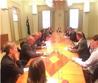 وزيرة الهجرة تجتمع مع نظيريها اليوناني والقبرصي بأستراليا