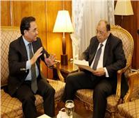 وزير التنمية المحلية يستقبل النائب عبدالرحيم علي