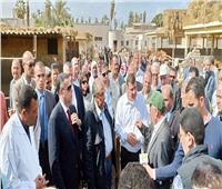 وزير الزراعة يختتم جولته في بني سويف بزيارة محطة الإنتاج الحيواني