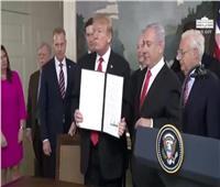 نواب سوريا: إعلان ترامب حول الجولان لن يتحقق إلا في الأحلام