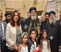 محافظ دمياط تستقبل البابا تواضرس بكاتدرائية العذراء