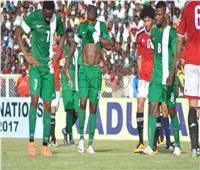 انطلاق الشوط الثاني من مباراة مصر ونيجيريا الودية