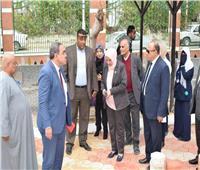 رئيس «التأمين الصحي» تتفقد الأعمال الجارية بمستشفى «التضامن» ببورسعيد