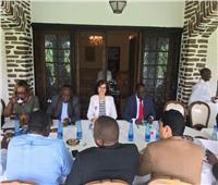 سفيرة مصر فيبوروندي تبحث كيفية الإعداد للاحتفال بيوم إفريقيا