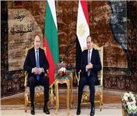رئيس بلغاريا يغادر القاهرة بعد توقيع اتفاقيات تعاون مع «السيسي»