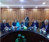 مجلس جامعة العريش يوافق على تطبيق نظام التصحيح الالكتروني