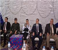 محافظ أسيوط يشهد زفاف أحد مصابي عملية حق الشهيد بسيناء