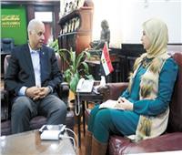 حوار  رئيس جامعة الإسكندرية: كليات جديدة للحوسبة والثروة السمكية.. ومقرر إجباري عن «التفكير النقدي»