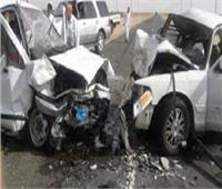 مصرع وإصابة 11 شخصاً في حادث سير بسيناء بينهم 4 أطفال