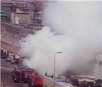 السيطرة على حريق بأحد مصانع المنسوجات بميناء دمياط