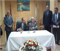 وزير الاتصالات ومحافظ جنوب سيناء يشهدان توقيع مذكرات تعاون مشترك