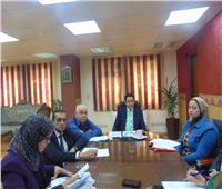 محافظة القاهرة تبحث إجراءات تشغيل مجزر ١٥ مايو