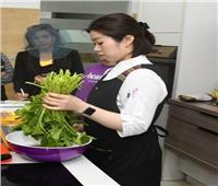 سفارة كوريا الجنوبية بالقاهرة تنظمدورة لتدريس مهارات الطبخ الكوري
