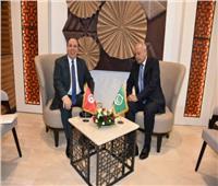 «أبو الغيط» يبحث مع وزير خارجية تونسجدول أعمال القمة العربية