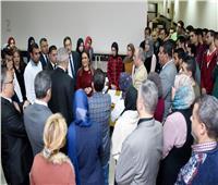صور..سحر نصر تتابع أعمال ميكنة المنطقة الحرة بمدينة نصر وفق أعلى النظم العالمية