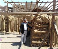 تجهيز 29 صومعة وشونة وهنجر لاستقبال 133 ألف طن قمح بأسيوط