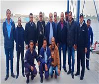 مميش يتفقد قسم تحركات الإسماعيلية .. وعبور ٦٧ سفينة بقناة السويس