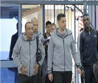 وصول فريق الإسماعيلي ملعب بتروسبورت استعدادًا لمواجهة إنبي