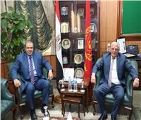 محافظ بورسعيد يستقبل وزير القوى العاملة