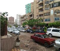 سقوط أمطار متوسطة على مراكز ومدن الغربية