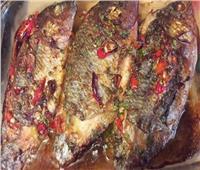 طبق اليوم| طريقة عمل « صينية السمك»