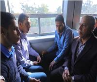 كامل الوزير من قطار المناشي: تغليظعقوبة التهرب من دفع التذاكرو«التسطيح»