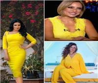 بعد الطلاق.. الفنانات يرفعن «شعار الأصفر يليق بي»