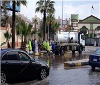 محافظ الإسكندرية يكلف رؤساء الأحياء بمتابعة تصريف مياه الأمطار