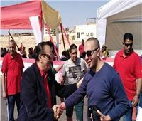 فيديو| «ناصر»: بطولة الترايثلون تشهد منافسات شرسة لأبطال العالم بشرم الشيخ