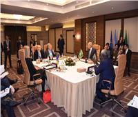 أبو الغيط يبحث مع سكرتير عام الأمم المتحدة دعم القضية الفلسطينية