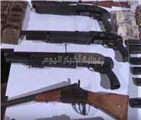 فيديو | الداخلية تضبط 636 متهمًا بحوزتهم 780 قطعة سلاح نارى