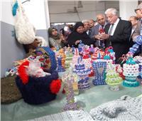 فوده يقرر إنشاء معرض دائم للمشغولات اليدوية بطور سيناء