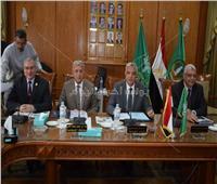 رئيس جامعة المنوفية يستعرض الخطة الاستراتيجية الجديدة